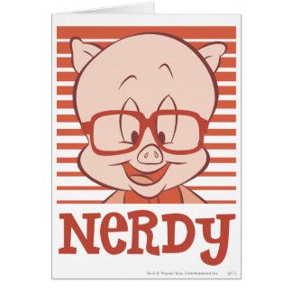 Porky - Nerdy Hälsningskort