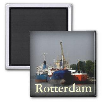 Port av Rotterdam Magnet För Kylskåp