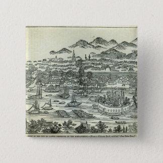Port av staden av cantonen standard kanpp fyrkantig 5.1 cm
