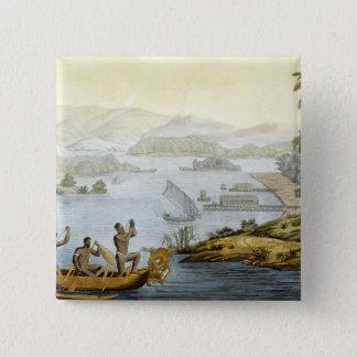 Port Dury, plätera 75 från 'Le Kostymera Ancien et Standard Kanpp Fyrkantig 5.1 Cm