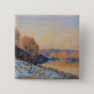 Port-Marly vitfrost, 1872 Standard Kanpp Fyrkantig 5.1 Cm