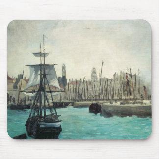 Port på Calais vid Manet, Musmatta