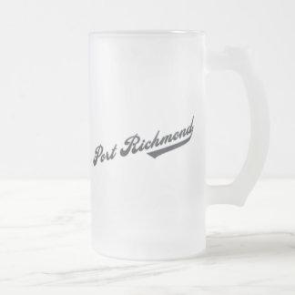 Port Richmond Frostat Ölglas