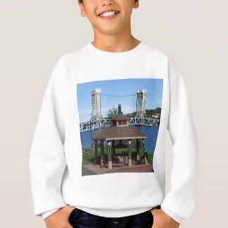 Portage sjöhiss överbryggar tee