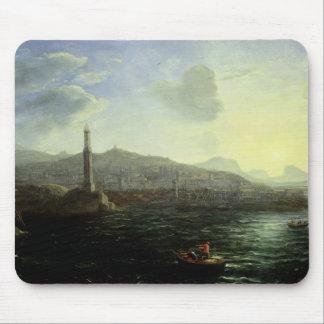 Porten av Genoa, havet beskådar Musmatta