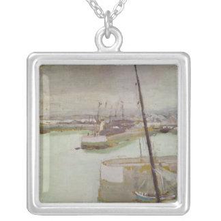 Porten av Honfleur, 1919 Silverpläterat Halsband