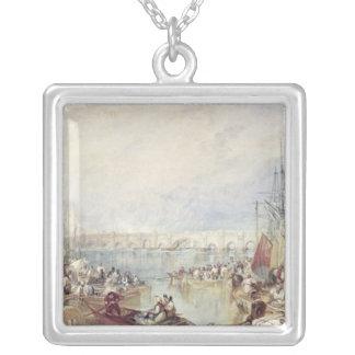 Porten av London Silverpläterat Halsband