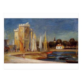 Porten av Rochelle vid Pierre-Auguste Renoir Vykort