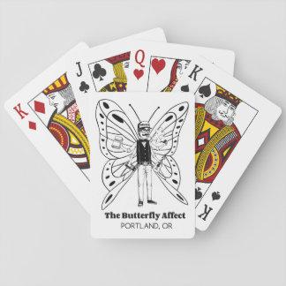 Portland BA som leker kort Spel Kort