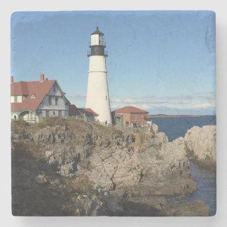 Portland Head fyr Maine Underlägg Sten