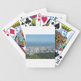 Portland horisont med monteringshuvan spelkort