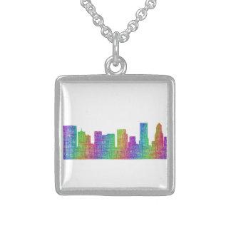 Portland horisont sterling silver halsband