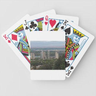 Portland Oregon skyscraper Spelkort