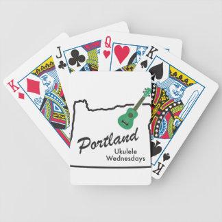 Portland Ukuleleonsdagar Spelkort