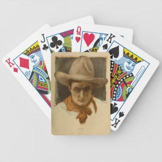 Porträtt 1918 för skådespelare för tyst film för T Spelkort