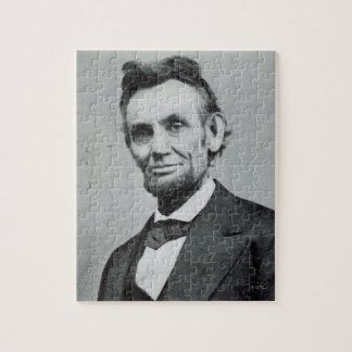 Porträtt av Abe Lincoln 1 Pussel