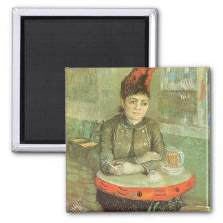 Porträtt av Agostina Segatori av Vincent Van Gogh Magnet