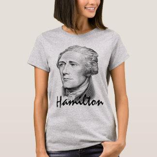 Porträtt av Alexander Hamilton Tee Shirt