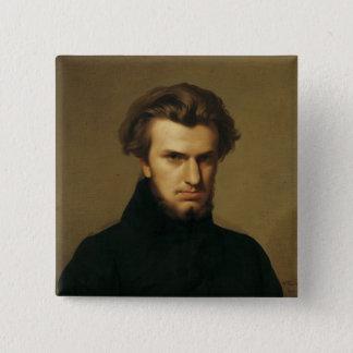 Porträtt av Ambroise Thomas 1834 Standard Kanpp Fyrkantig 5.1 Cm