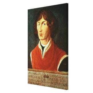 Porträtt av Andreus Nikolaus Copernicus 1575 Canvastryck