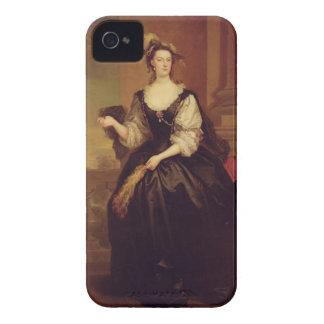 Porträtt av Anne Howard, dam Yonge (olja på kanfas iPhone 4 Hud