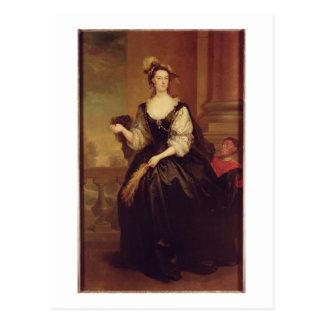 Porträtt av Anne Howard, dam Yonge (olja på kanfas Vykort