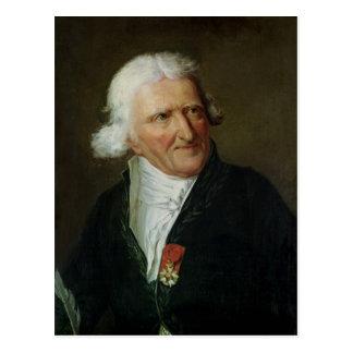 Porträtt av Antoine Augustin Parmentier Vykort