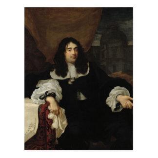 Porträtt av Antoine de Ratabon, 1660 Vykort