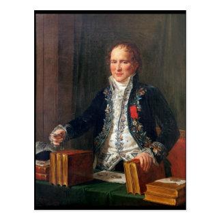 Porträtt av Antoine Francois de Fourcroy Vykort
