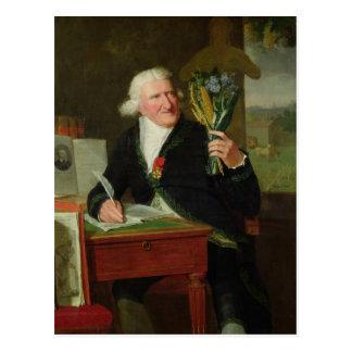Porträtt av Antoine Parmentier 1812 Vykort