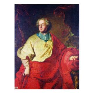 Porträtt av Armand Gaston Maximilien de Rohan Vykort