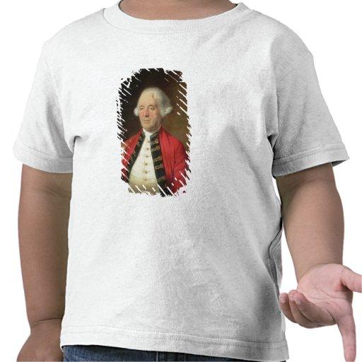Porträtt av Augustin Prevost (1723-86) i enhetligt Tee Shirt