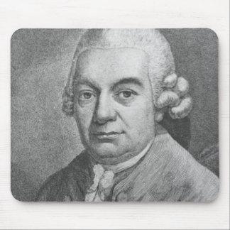 Porträtt av Carl Philipp Emanuel Bach (1714-88) (e Musmatta