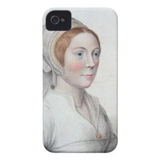 Porträtt av Catherine Howard (1520-42) som by Case-Mate iPhone 4 Case