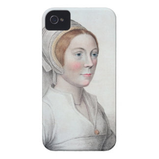 Porträtt av Catherine Howard (1520-42) som by Case-Mate iPhone 4 Fodraler