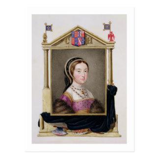Porträtt av Catherine Howard (c.1520-d.1542) 5th Q Vykort