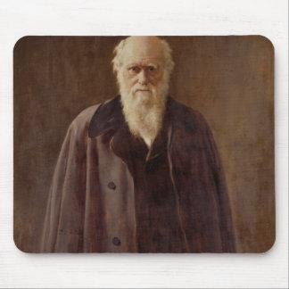 Porträtt av Charles Darwin 1883 Musmatta