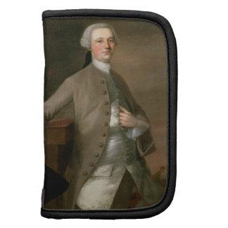 Porträtt av David Garrick (1717-79), 1742 (olja på Personlig Almanacka