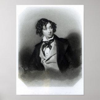 Porträtt av den Benjamin Disraeli esquiren M.P. Poster