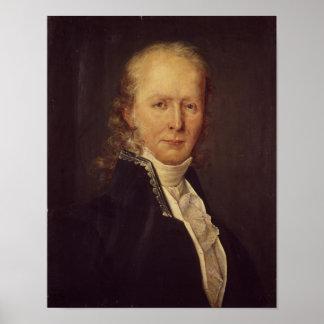 Porträtt av den Benjamin konstanten Poster