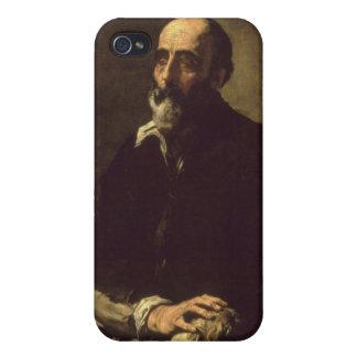 Porträtt av den blinda skulptören, Gambazo 1632 iPhone 4 Fodraler