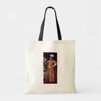 Porträtt av den Chaireddin pashaen av Italienische Tote Bags
