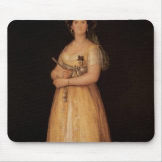 Porträtt av den drottningMaria Luisa frun av kunge Musmatta