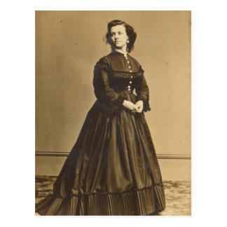 Porträtt av den fackliga spionen Pauline Cushman Vykort