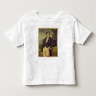 Porträtt av den franska zoologisten t-shirts