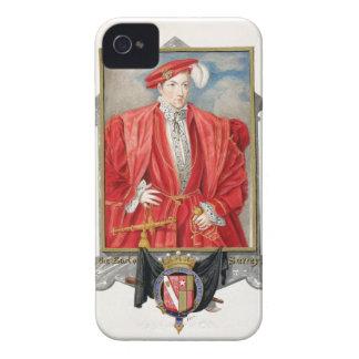 Porträtt av den Henry Howard (c.1517-47) earlen av Case-Mate iPhone 4 Skydd