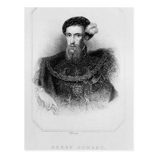 Porträtt av den Henry Howard earlen av Surrey Vykort