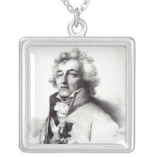 Porträtt av den marskalkCharles-Joseph princen Silverpläterat Halsband