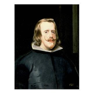 Porträtt av den Philip droppen i domstolklänning, Vykort