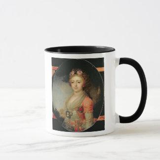 Porträtt av den storslagna hertiginnan Alexandra, Mugg